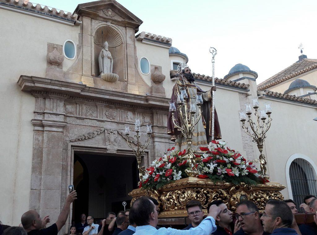 San Agustín no saldrá en procesión
