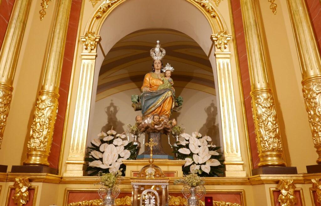 D. Jerónimo aclamó a la Virgen de la Salceda